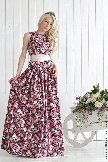 """Платье """"Анжелика"""" (хлопок). Handmade."""