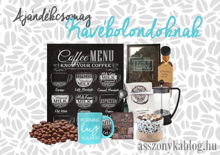 Giftbox for coffee-lovers. Ajándékcsomag kávébolondoknak.