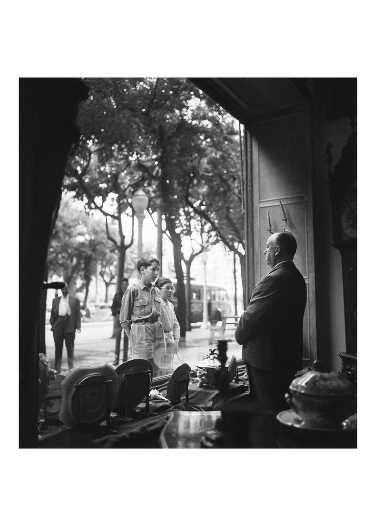 Alfred Hitchcock, Avenida de San Sebastián. Festival Internacional de Cine 1958