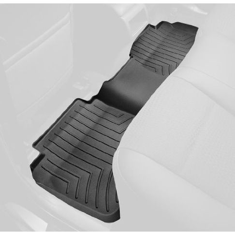 WeatherTech Custom Fit Rear FloorLiner for Select Cadillac/G - Black