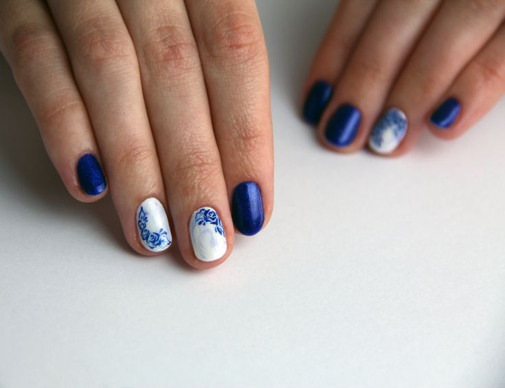 #blue #white #flowers #ornament
