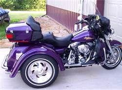 purple harley davidson trike - Bing Images