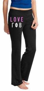 Sorority Fitness Yoga Pants SALE $39.98. - Greek Clothing and Merchandise - Greek Gear®