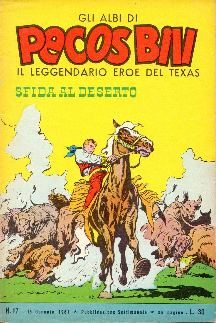 SFIDA AL DESERTO - Albi di Pecos Bill n.° 17 - 15 gennaio 1961