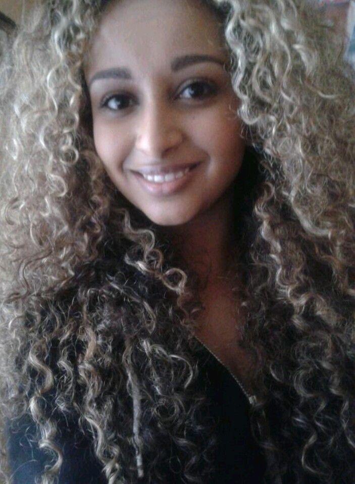 Naturally Curly Mixed Hair