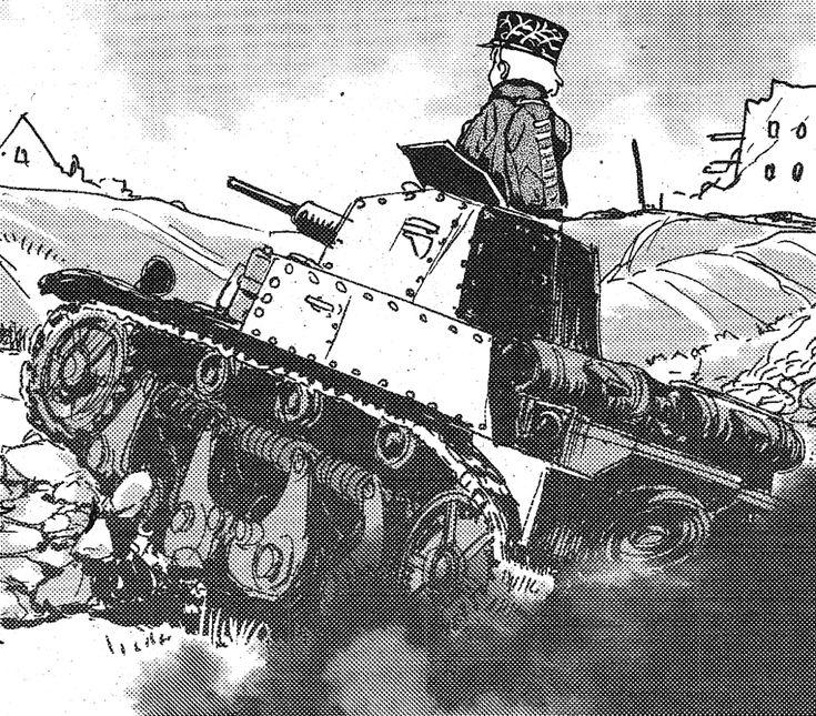 Bc Freedom Girls High School Freedom Girl Anime Tank Army Wallpaper