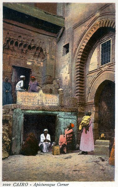 Cairo - A picturesque Corner.Cairo - by Lehnert & Landrock