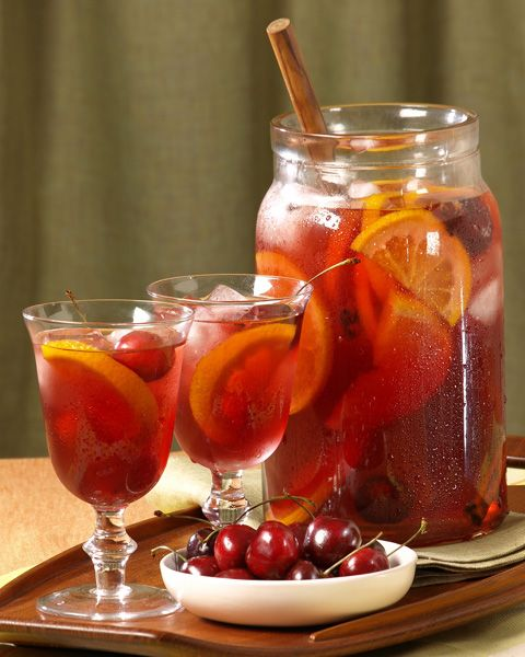 """Carlo Rossi Summertime Sangria - Carlo Rossi says, """"I like talking about Carlo Rossi wine, but I'd rather drink it."""" - photo provided by representatives of Carlo Rossi Wines for post on www.intoxicologist.net"""