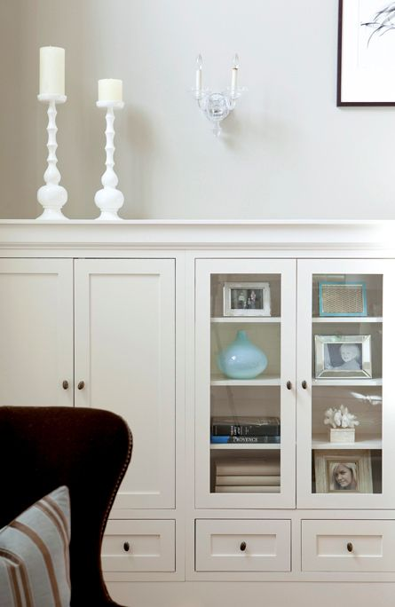 built in cabinets..super easy to do with our Adirondack cabinet line. http://www.rtacabinetstore.com