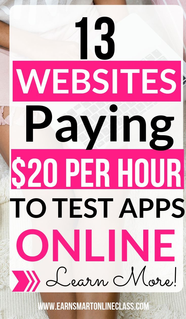 13 Companies With Website Testing Jobs Work From Home Jobs Need