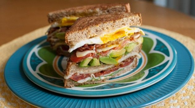 Club BLT with Avocado and Chipotle Mayo | Food Yum | Pinterest