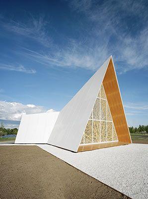 Chapel by AOA Architects: Aoa Lilja, Church Exteriors, Church Design, Lilja Chapel, Ecumenical Chapel, Ekumeeninen Kappeli, Church Architecture