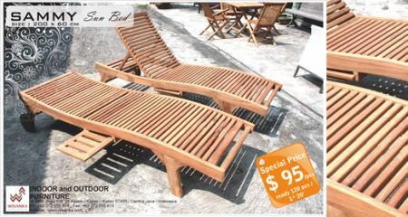 Special promo Wisanka Outdoor products. Check it out... Detail of Sammi Sun Bed | Indonesia Contemporary Furniture