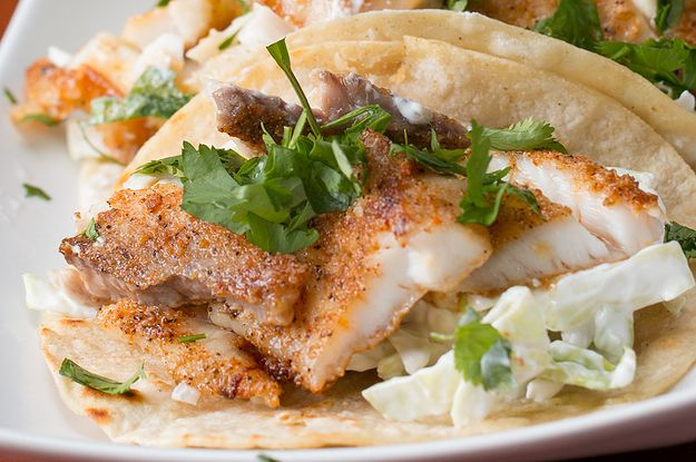 Fish tacos are the best tacos.