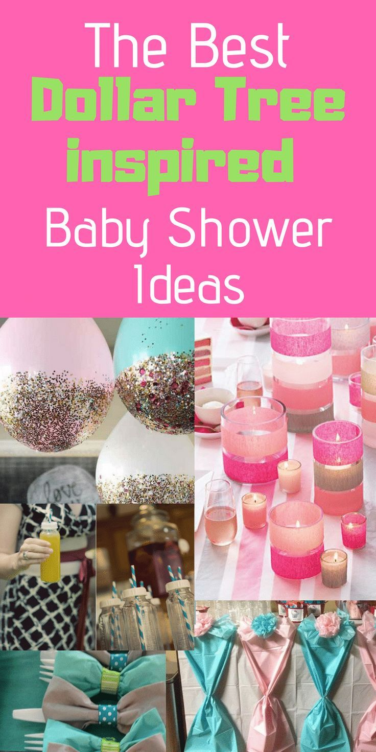 The Best Dollar Tree Inspired Baby Shower Ideas Bloggers Best