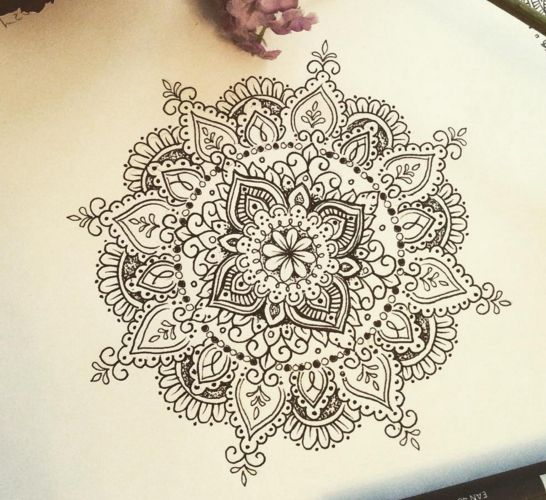 22 Mandala Tattoo Designs Ideas: Olivia-Fayne Tattoo Design - EYE CANDY