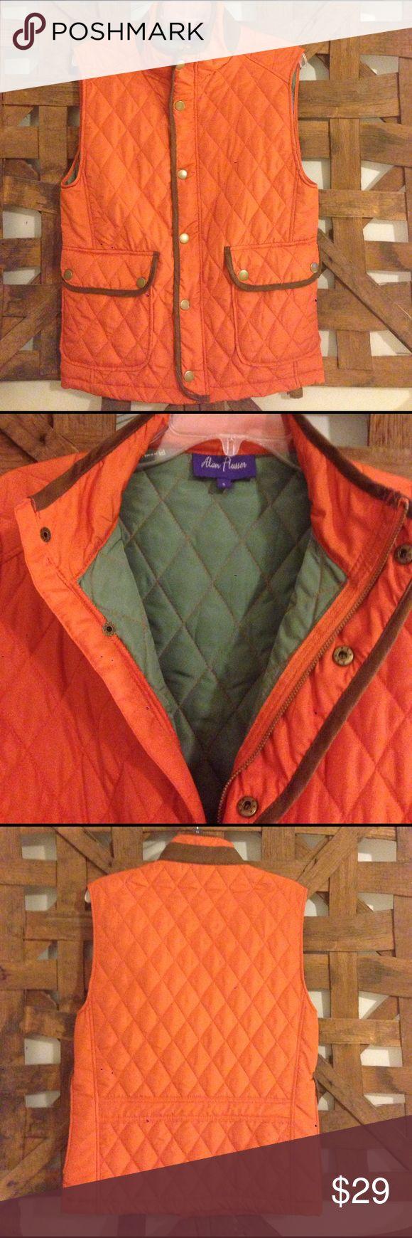 Alan Flusser Men's Quilted Vest Alan Flusser Vest, men's size S. Great color combination, New never worn. Alan Flusser Jackets & Coats Vests