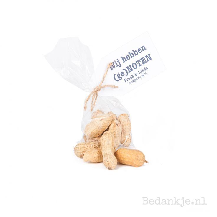 (ge)Noten - Trouwbedankjes - Bedankje.nl - Maakt bedankjes persoonlijk!