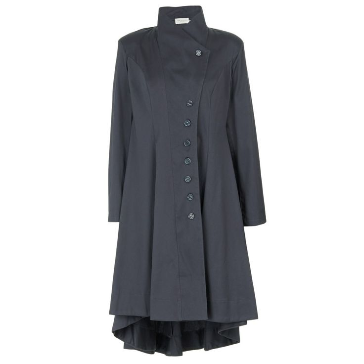 Longer-length Jacket in Charcoal