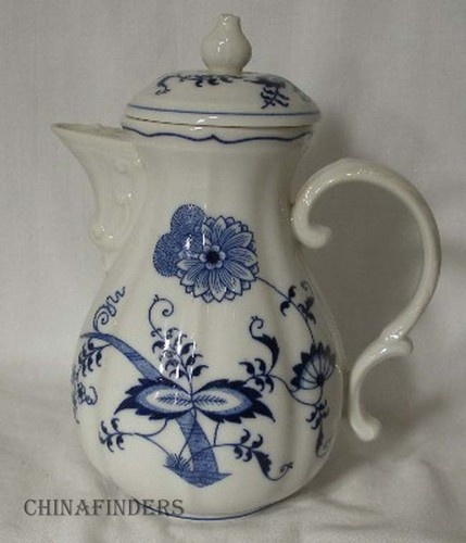 Blue Danube China Japan Blue Danube Pattern Mini or Demitasse Coffee Pot 2 Cups | eBay