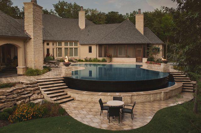 Best 25 infinity pool backyard ideas on pinterest - Small infinity pool ...