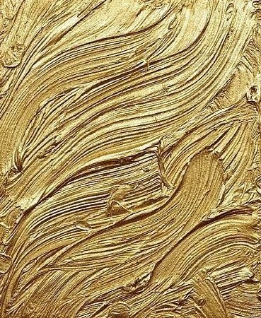Gold Paint Strokes #anthropologie #pintowin