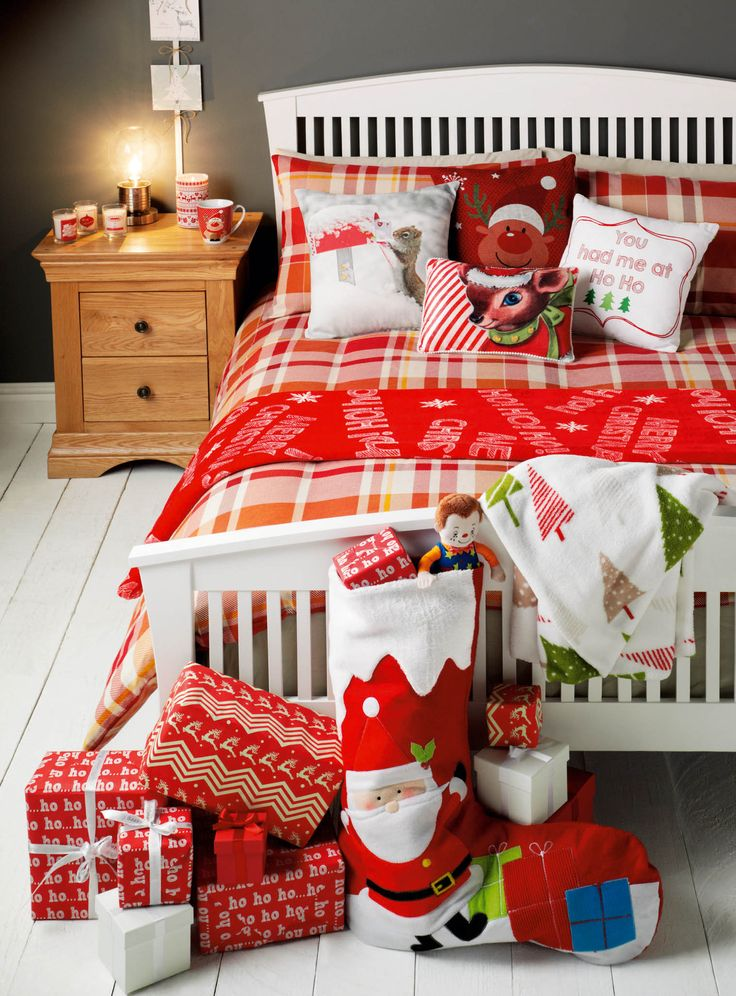 Add some festive touches to your bedroom in time for Christmas