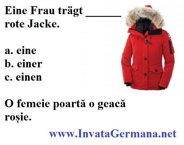 Chestionare de limba germana | Invata Germana ABC