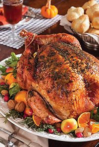Savory Herb-Roasted Turkey