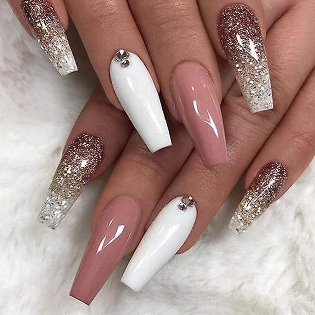 49 Best Nail Art Trends For Winter 2020 Ombre Acrylic Nails Ballerina Nails Designs Ballerina Nails