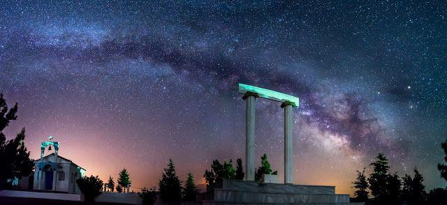 My Samos: Ένα blog για τη Σάμο: ΦΩΤΟΡΕΠΟΡΤΑΖ: Η μαγεία του σαμιώτικου νυχτερινού ουρανού!
