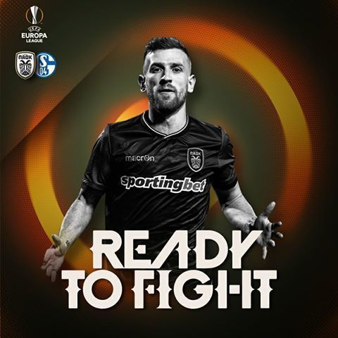 We're back & Ready to Fight #PAOK #UEL
