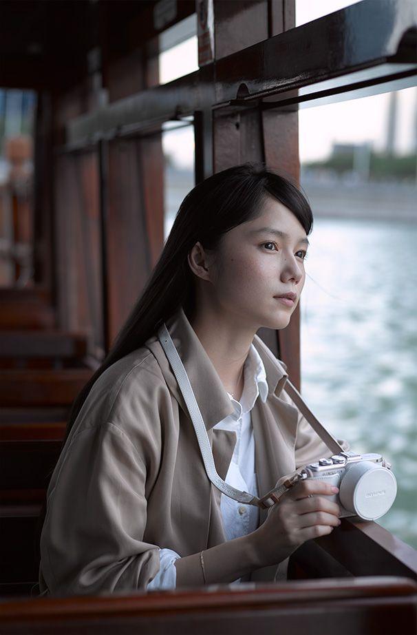 宮﨑あおい with オリンパスペン E-PL8 | Interchangeable Lens Cameras | オリンパス