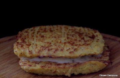 Zdrowo zakręcona: Pieczone kalafiorowe tosty z serem. Bezzbożowe!