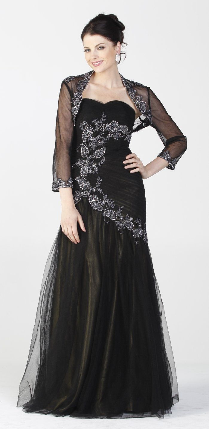 112 best Mother of the Bride Dresses With Jacket images on Pinterest ...