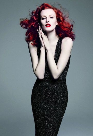 another great colour. [karen elson]