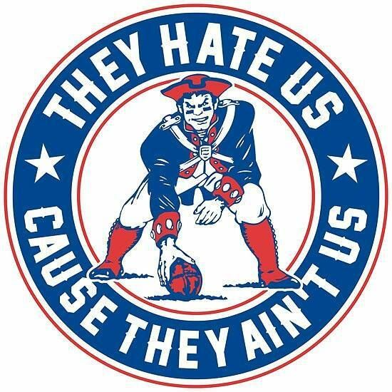 PATS | Minuteman | They Hate us because they Ain't us | New England Patriots
