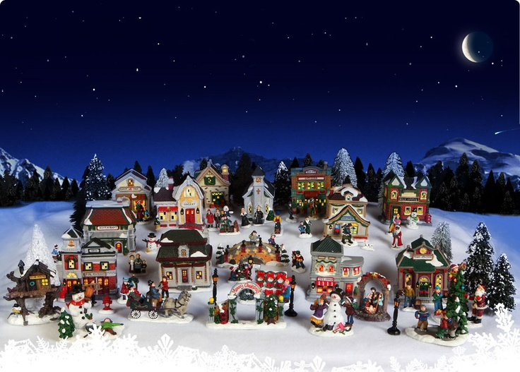 The 25+ best Christmas village sets ideas on Pinterest | Christmas ...
