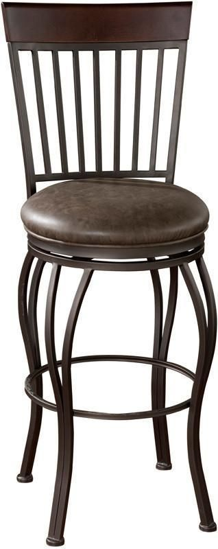 American Heritage Billiards 126909PP Transitional Counter Stool
