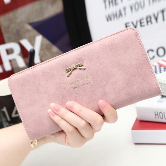 Dame Arc femmes de Portefeuille Porte-Monnaie Marque carte magique portefeuille Zipper femmes sacs à main de mode Petite Femelle de Long bourse D'embrayage