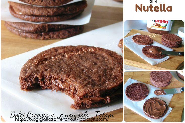 Biscotti+Sandwich+alla+Nutella