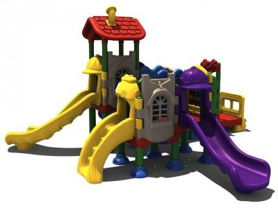The Child Center - The perfect blend of commercial grade playground at the right price for the small to medium daycare center.