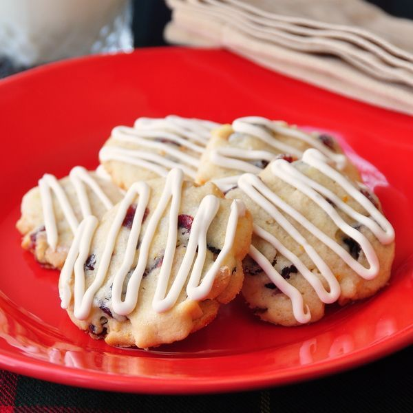 Cranberry Almond Orange Cookies. | FOOD | Pinterest
