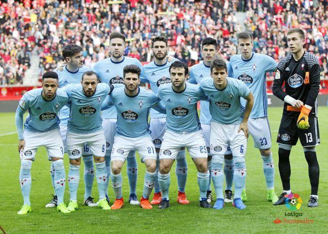 Equipos de fútbol: CELTA DE VIGO contra Sporting de Gijón 26/02/2017