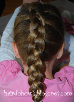 Hairdo How-to: Lesson 55: How to Dutch Braid/ Inside-Out French Braid