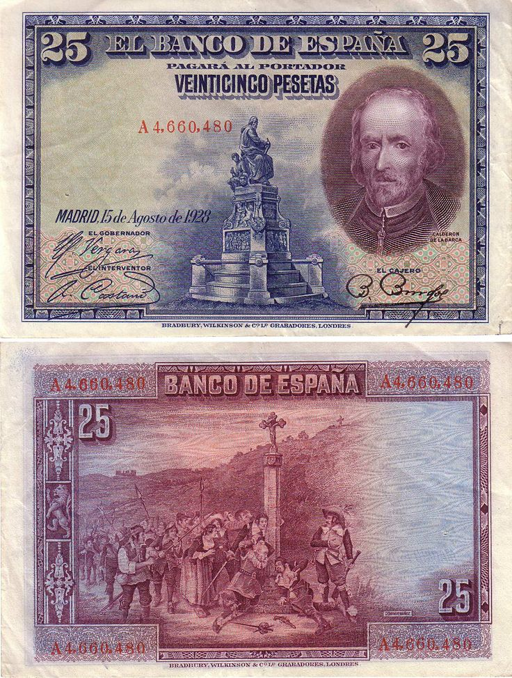 spain currency   Spain Paper Money Collection