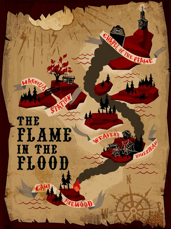 The Flame in the Flood - video game about a journey and survival in a possibly post apocalyptic world
