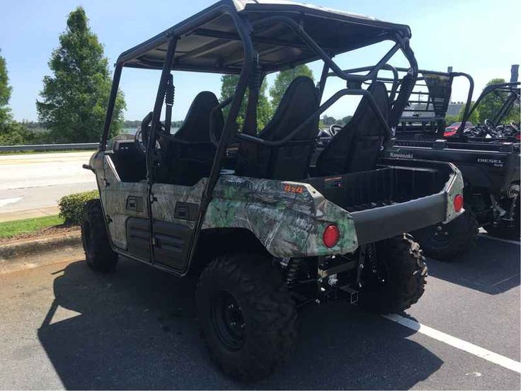 New 2016 Kawasaki Teryx4 Camo ATVs For Sale in Florida. 2016 Kawasaki Teryx4 Camo, Contact us for a demo. We've been doing business Lakeland, FL for over 20 years, providing the Lakeland Area with the finest and funnest vehicles, camping equipment and dealership experience around. **Note: Picture is not of Teryx. Actual Teryx is CAMO and is in the crate awaiting your arrival** Up for any challenge, the redesigned Kawasaki Teryx4 Camo side x side takes on the wilderness full-throttle with its…