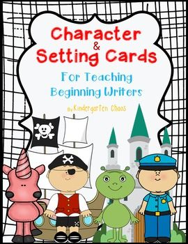 Use these character and setting cards to teach the difference between characters and setting, the importance of each, and their role in stories. Use the cards to play whole group games, such as sorts and guess again, or print them out and have students glue them into drawing journals.