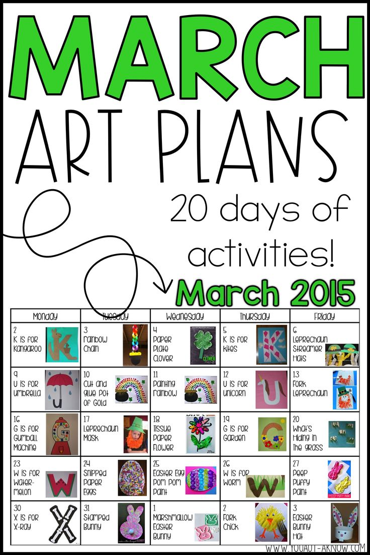 March Artwork Plans and a Winner